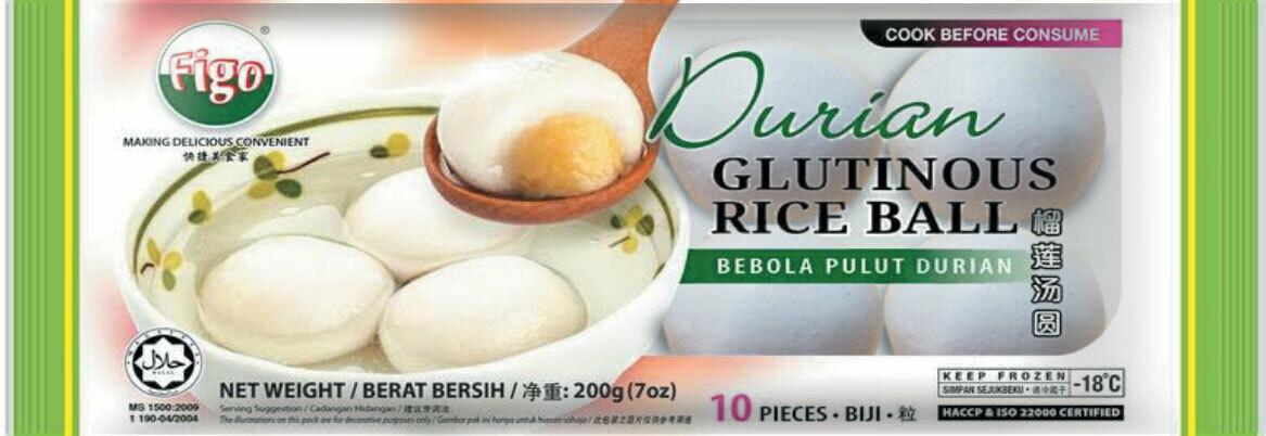 Glutinous Rice Ball - Durian