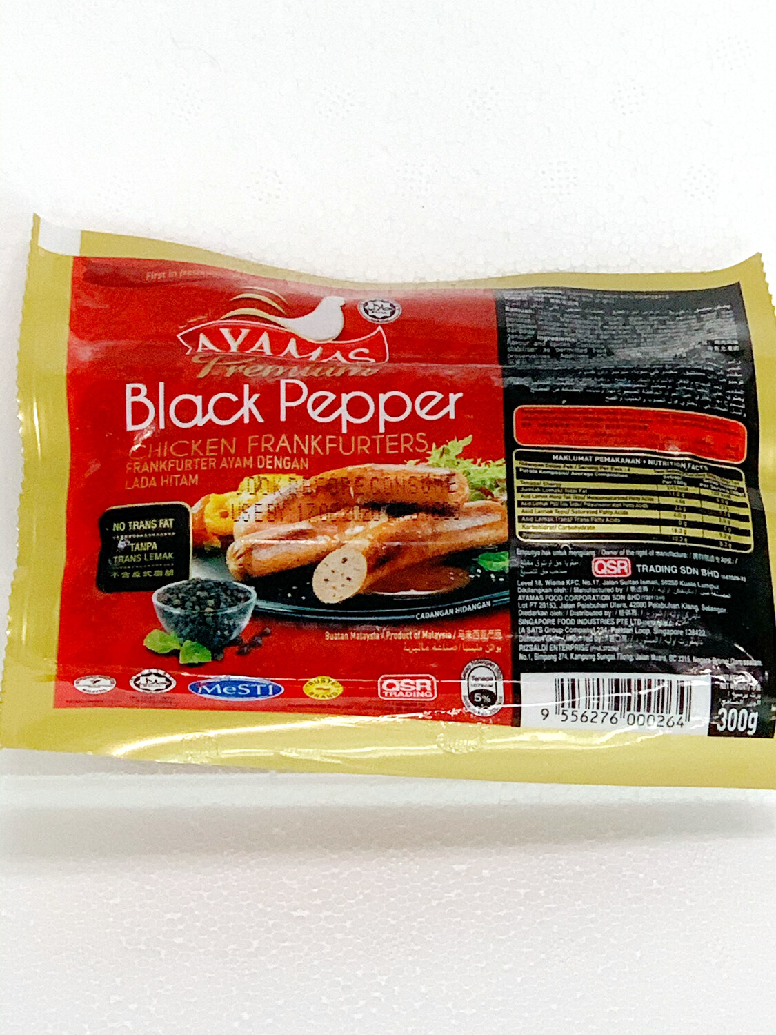 Hot Dog - Chicken (Black Pepper)