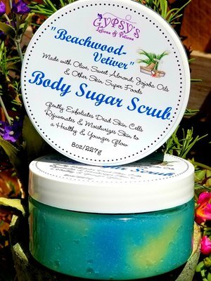 Body Sugar Scrubs (without soap)