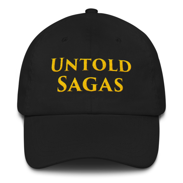 Untold Sagas Embroidered Cap