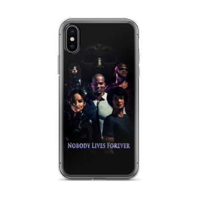 Nobody Lives Forever iPhone Case