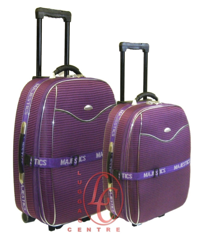 98186ad99 2 pcs Medium + Ryanair Small Cabin Size Hand Luggage Trolley Suitcase Set