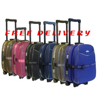 4991a2260 2 pcs Medium + Ryanair Small Cabin Size Hand Luggage Trolley ...