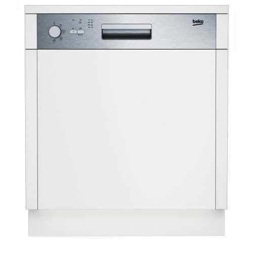 Посудомоечная машина Beko DSN 04310 X серебристая