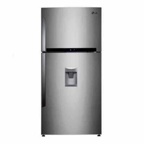 Холодильник двухкамерный LG REF GR-F802HMHU стальной