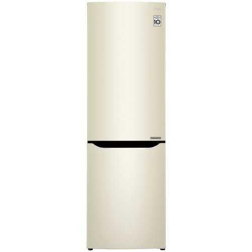 Холодильник двухкамерный LG REF GA-B419SYJL бежевый