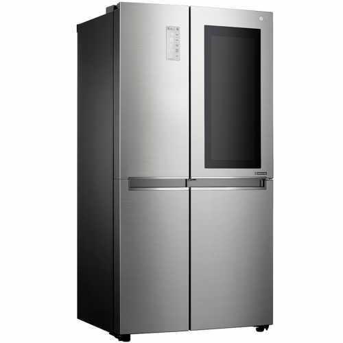 Холодильник side-by-side LG GC-Q247CABV серебристый