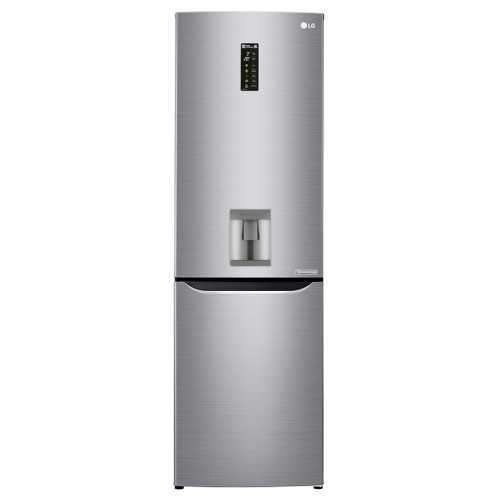 Холодильник двухкамерный LG REF GC-F429SMQZ серебристый
