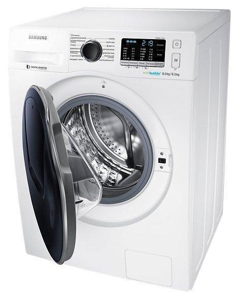 Стиральная машина Samsung WD80K5410OW/LP белая
