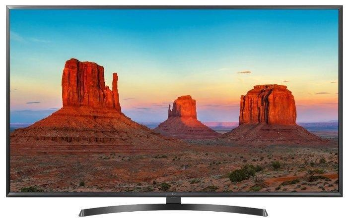 Телевизор LG 43UK6450 4K Ultra HD черный
