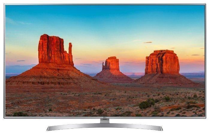 Телевизор LG 43UK6510 4K Ultra HD серебристый