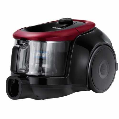 Пылесос Samsung SC18M21AOS1 черно-бордовый