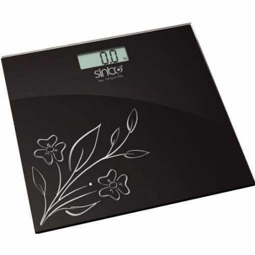 Весы напольные Sinbo SBS-4438 черный
