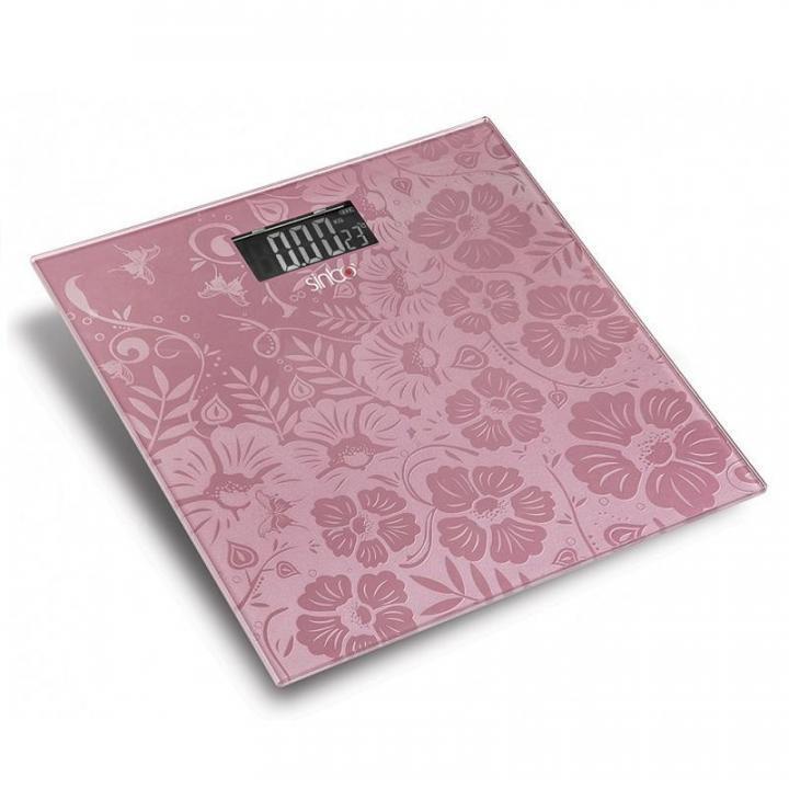 Весы напольные Sinbo SBS-4445 розовый