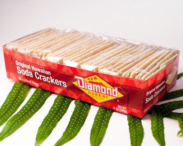 Diamond Bakery Original Hawaiian Soda Crackers Small 13 oz