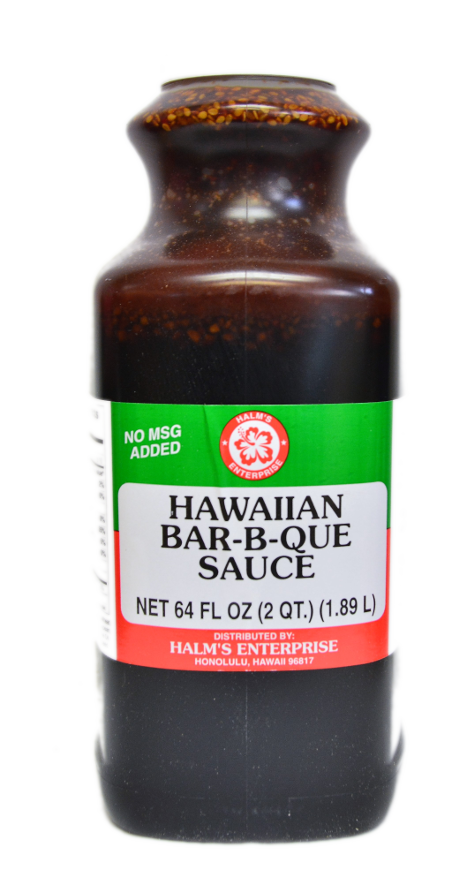 Halm's Hawaiian Bar-B-Que Sauce 64 fl. oz.