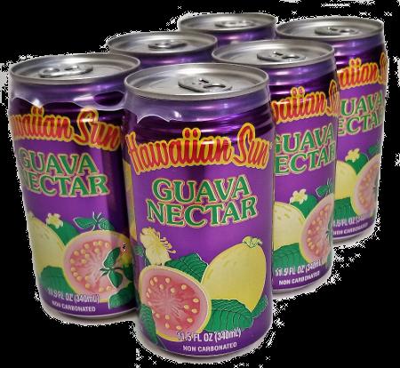Hawaiian Sun Drink - Guava Nectar 11.5 oz (Pack of 6)