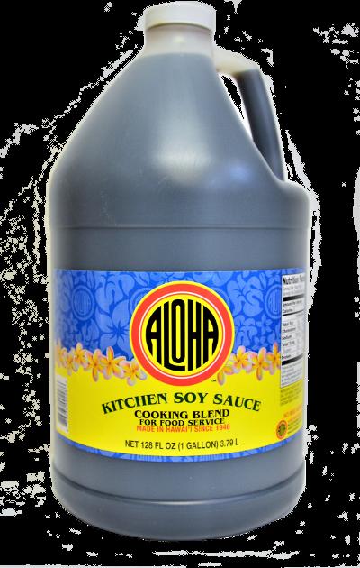 Aloha Kitchen Soy Sauce Gallon (128 fl oz)