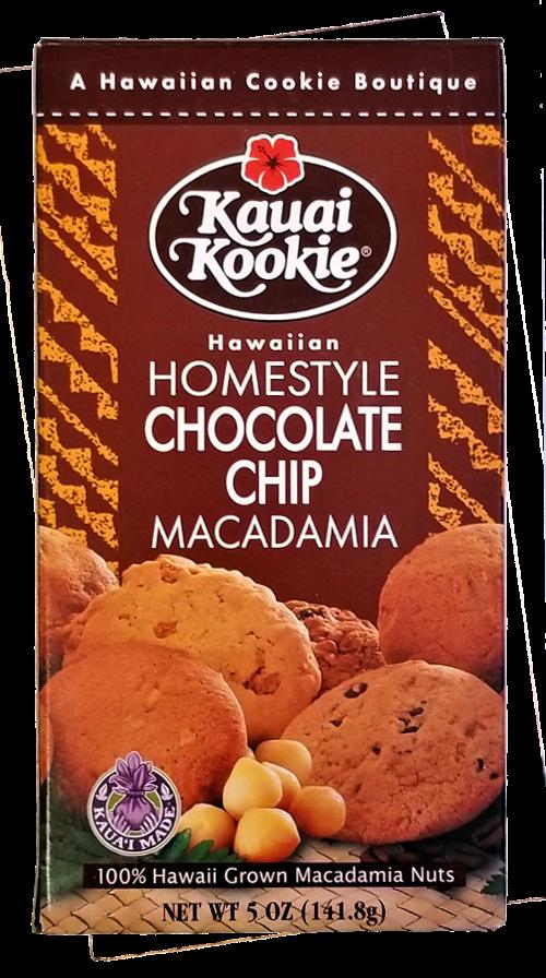 Kauai Kookie Chocolate Chip Macadamia Cookies 5 oz