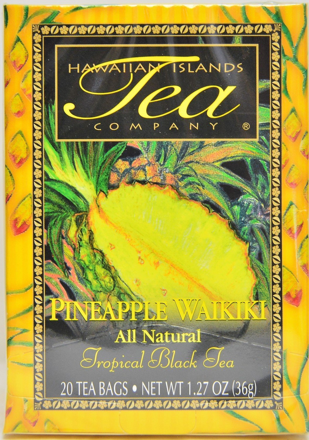 Hawaiian Islands Tea Co. Pineapple Waikiki Tea 20CT/EA 1.27oz