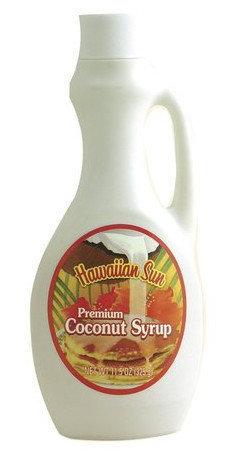 Hawaiian Sun Premium Coconut Syrup 11.5oz
