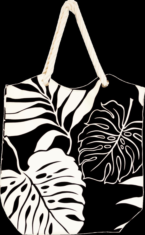 Tropical Paper Garden - Kawika Canvas Tote Bag - Pali