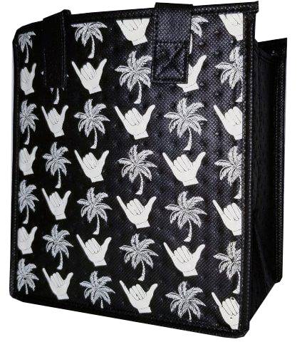 Tropical Paper Garden - Insulated Small Bag - Hideout Black