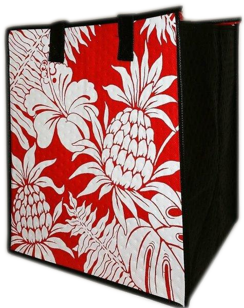Tropical Paper Garden - Insulated Large Bag- Timbuk 2 Red