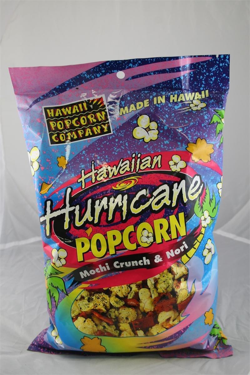 Hawaiian Hurricane Pre-Popped Popcorn Mochi Crunch & Nori 4 oz