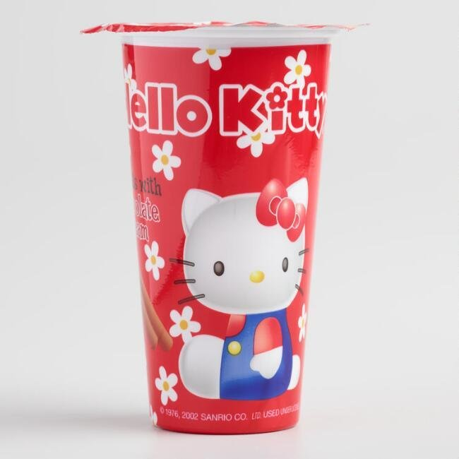 Hello Kitty Chocolate Biscuits 1.76 oz
