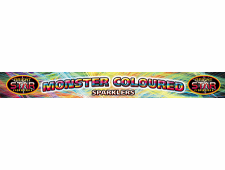 1007 - Monster Sparklers 4pce D/Box 14Inch