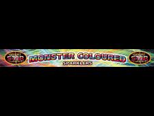 2074 - Monster Coloured Sparkler 4pce D/Box 14Inch