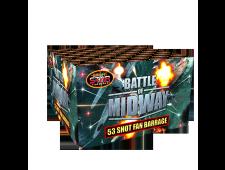2179 - Battle of Midway 53 Shot Fan Barrage