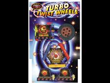 2244 - Turbo Twist Wheels 5pce B/Carded