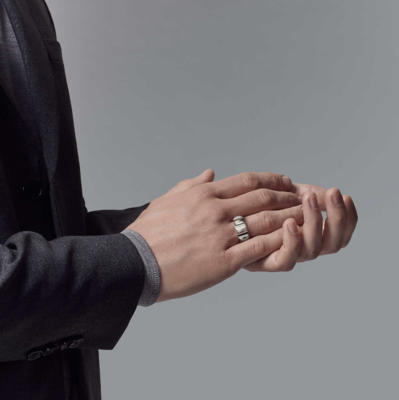 SAMPLE. Men's Wide Groove Ring