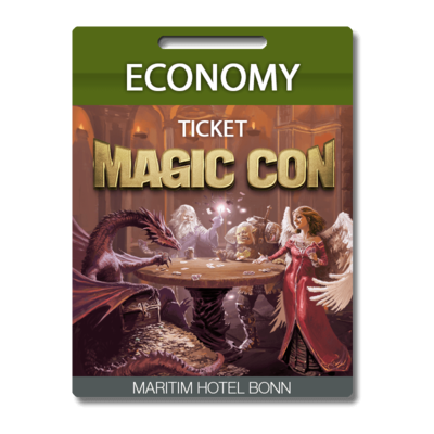 MagicCon Economy-Ticket