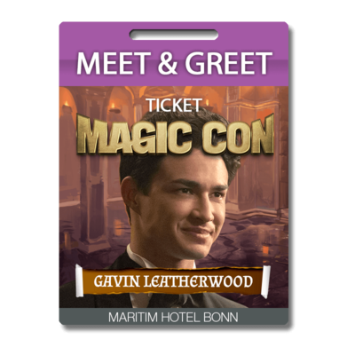 Meet and Greet Gavin Leatherwood