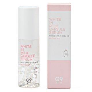 White in Milk Capsule Serum