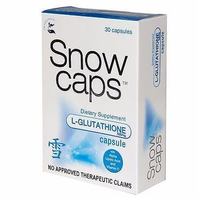 SNOW CAPS SNOWCAPS PREMIUM GLUTATHIONE