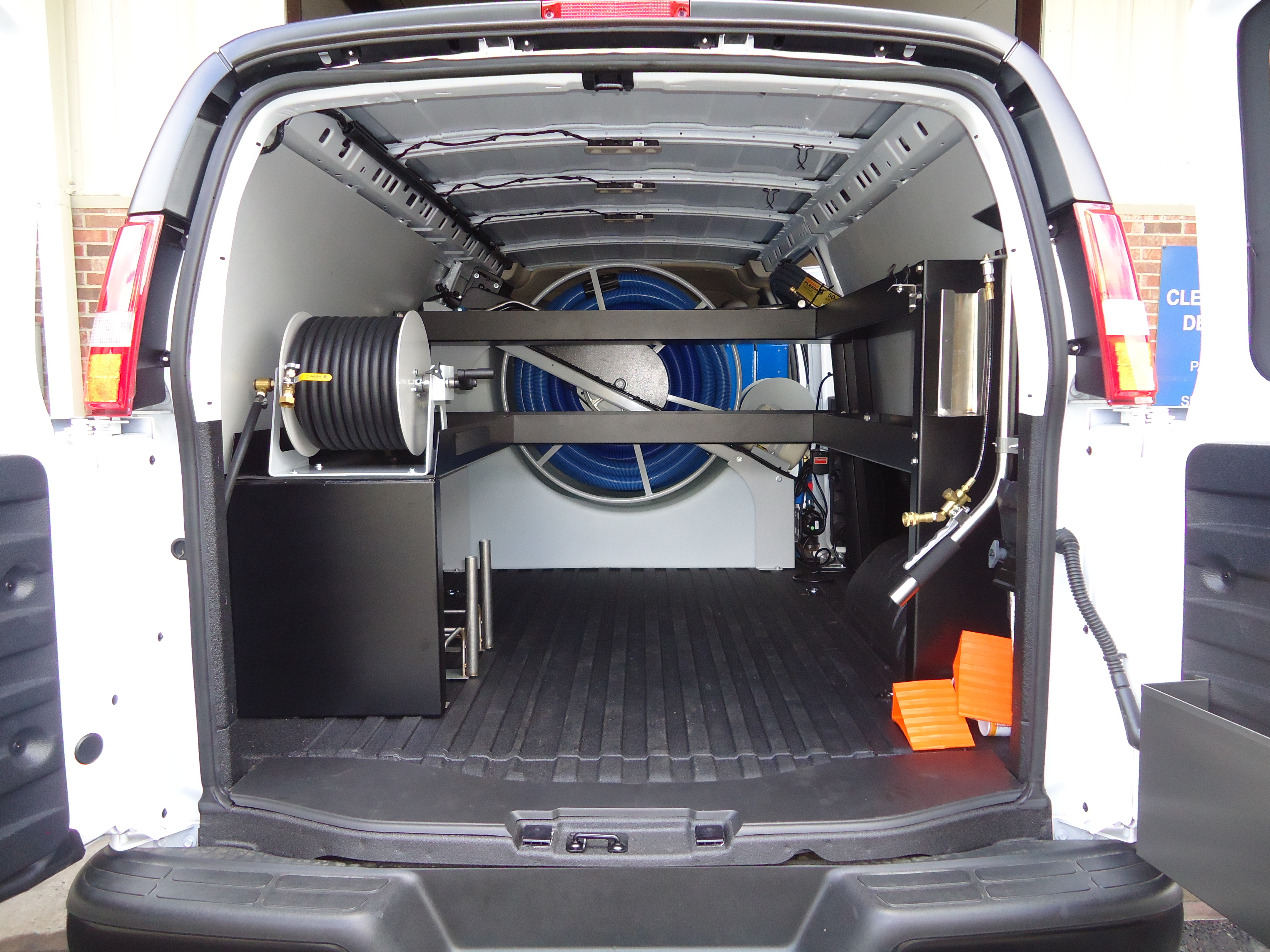 Hydramaster CDS 4.8 - Pro Shelving Kit - Fits Extended Chevy Vans Only PTI-CDS