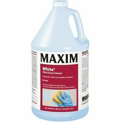 MAXIM White2 (Gallon) by MidLab | Acidic Tile & Grout Cleaner