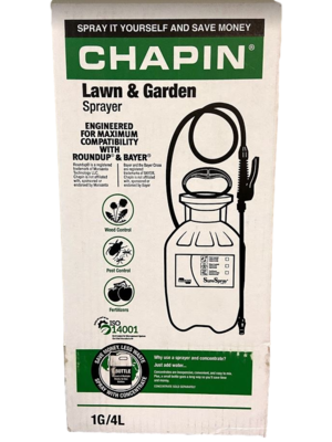 1 Gallon Lawn & Garden Pump Up Sprayer by CHAPIN