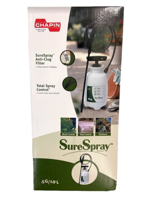 1/2 Gallon Sure Spray Pump Up Sprayer by CHAPIN