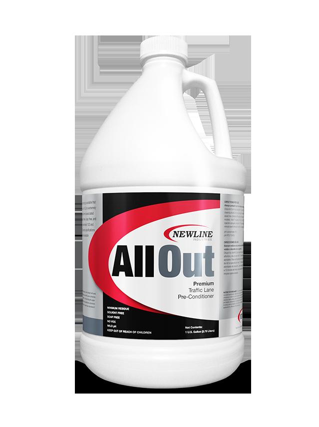All-Out (Gallon) by Newline | Carpet Prespray NI-AO
