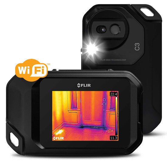 FLIR C3 Compact Thermal Camera with Wi-Fi EX-C3