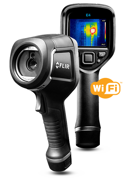 FLIR E4 Infrared Camera with MSX and Wi-Fi EX-E4