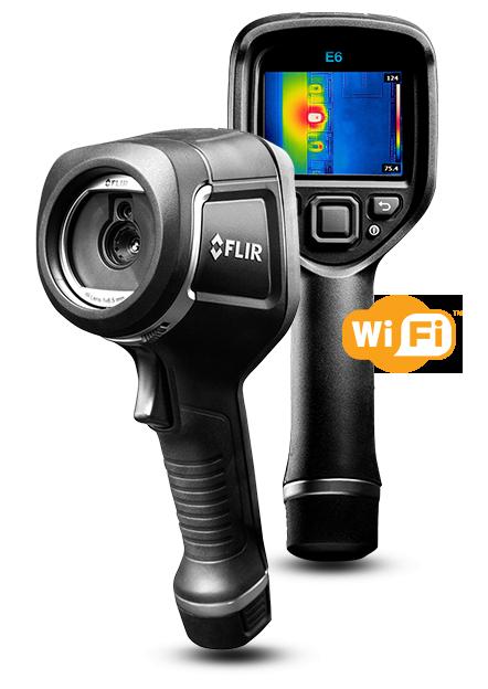 FLIR E6 Infrared Camera with MSX and Wi-Fi EX-E6