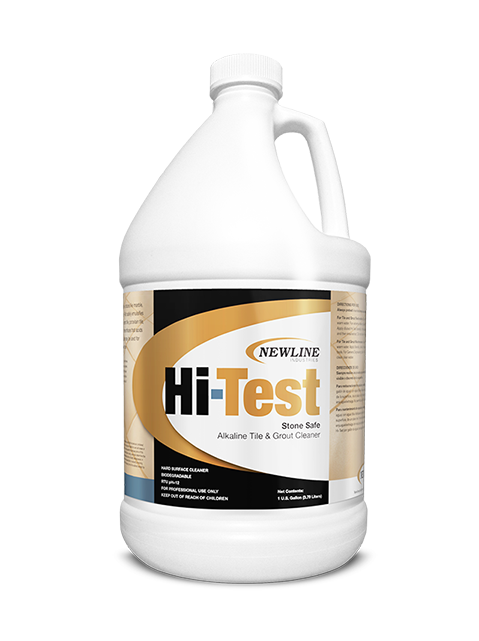 Hi Test (Gallon) by Newline | Premium Alkaline Stone and Tile Cleaner HI-HT