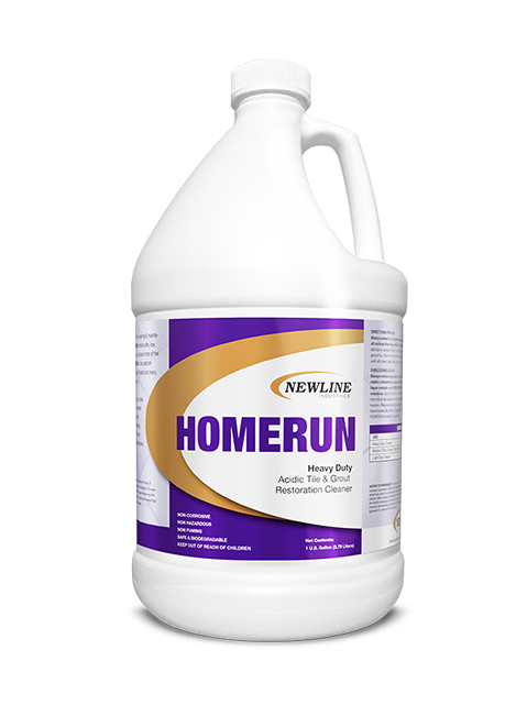 Homerun (Gallon) by Newline | Premium Acid Tile and Grout Cleaner HI-HR