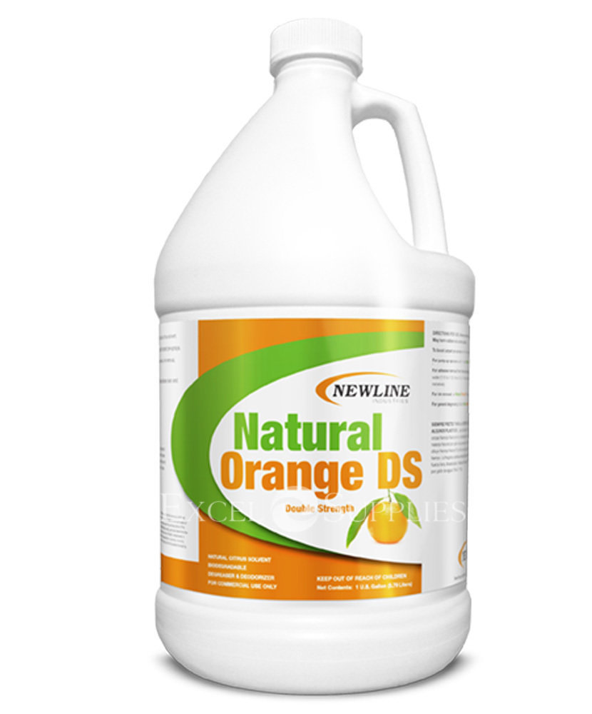 Natural Orange DS (Gallon) by Newline | Solvent Booster and Carpet Spotter NI-NO